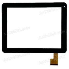 CTP208-097-A Digitizer Glass Touch Screen Replacement for 9.7 Inch MID Tablet PC