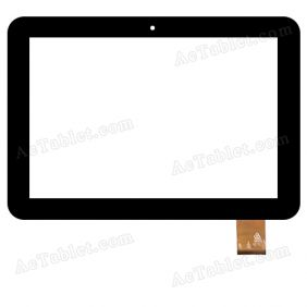 RS10F448_V1.0 Digitizer Glass Touch Screen Replacement for 10.1 Inch MID Tablet PC