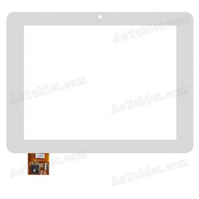 A0205-1-F0-A Digitizer Glass Touch Screen Replacement for 8 Inch MID Tablet PC