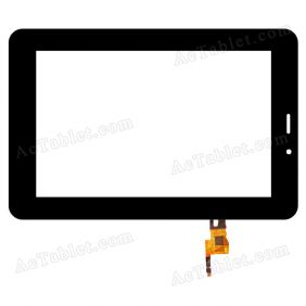 DY-F-07046-V2 Digitizer Glass Touch Screen Replacement for 7 Inch MID Tablet PC
