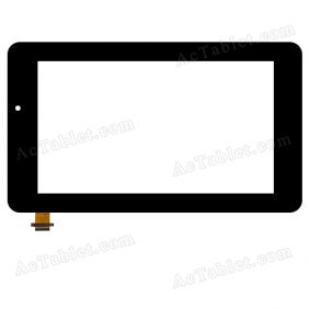 OLM-070C0556-FPC VER.1 Digitizer Glass Touch Screen Replacement for 7 Inch MID Tablet PC
