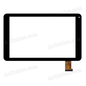 RS10F606G_V1.1 Digitizer Glass Touch Screen Replacement for 10.1 Inch MID Tablet PC