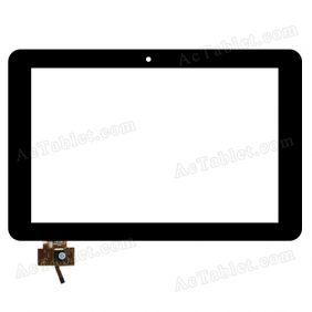 RS10F154_V1.0 Digitizer Glass Touch Screen Replacement for 10.1 Inch MID Tablet PC