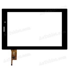 RS8F531_V1.1 Digitizer Glass Touch Screen Replacement for 8 Inch MID Tablet PC