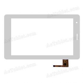 RS7F353_V2.3 Digitizer Glass Touch Screen Replacement for 7 Inch MID Tablet PC