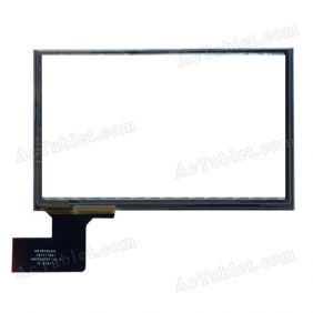 C073118A1 DRFPC075T-V2.0 Digitizer Glass Touch Screen Replacement for Android Tablet PC