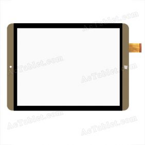 PB97A2475 KDX Digitizer Glass Touch Screen Replacement for 9.7 Inch MID Tablet PC