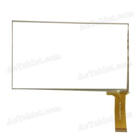YCG-C7.0-0129A-FPC-01 Digitizer Glass Touch Screen Replacement for 7 Inch MID Tablet PC