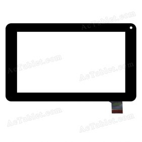 SG5696-FPC_V2-1 Digitizer Glass Touch Screen Replacement for 7 Inch MID Tablet PC