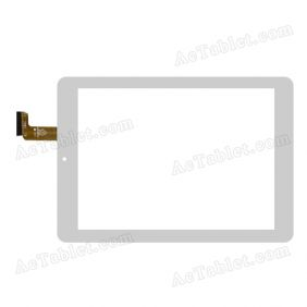 RAYSENS RS8F1956_V1.1 Digitizer Glass Touch Screen Replacement for 8 Inch MID Tablet PC
