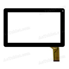 QLT1007C-FPC-ZX Digitizer Glass Touch Screen Replacement for 10.1 Inch MID Tablet PC