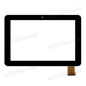 OLM-101C1160-FPC Digitizer Glass Touch Screen Replacement for 10.1 Inch MID Tablet PC