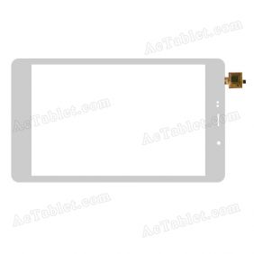XC-PG0800-026-A-FPC Digitizer Glass Touch Screen Replacement for 8 Inch MID Tablet PC