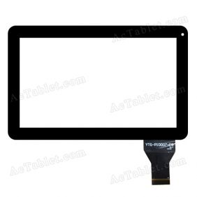 YTG-P10007-F8 V1.1 Digitizer Glass Touch Screen Replacement for 10.1 Inch MID Tablet PC