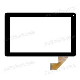 MF-806-090F FPC Digitizer Glass Touch Screen Replacement for 9 Inch MID Tablet PC