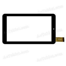 WJ739-FPC V2.0 Digitizer Glass Touch Screen Replacement for 7 Inch MID Tablet PC