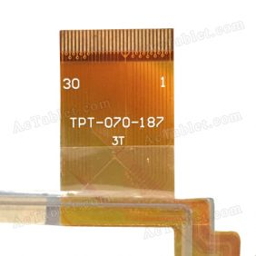 TPT-070-187 Digitizer Glass Touch Screen Replacement for 7 Inch MID Tablet PC