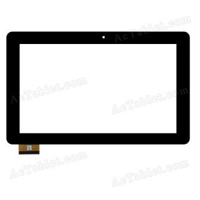 HC261159A1 FPC017H V2.0 Digitizer Glass Touch Screen Replacement for 10.1 Inch MID Tablet PC