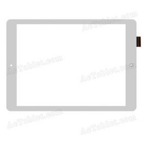 WJ787-FPC V3.0 Digitizer Glass Touch Screen Replacement for 9.7 Inch MID Tablet PC