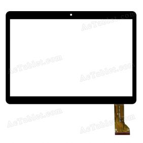 YLD-CGGA461-FPC-A0 Digitizer Glass Touch Screen Replacement for 10.1 Inch MID Tablet PC