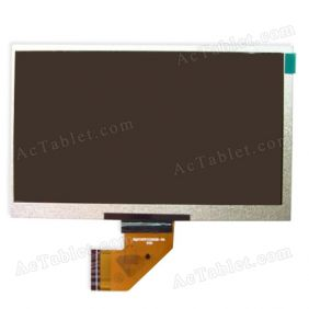 Digital FPC-Y86095 V02 Inner LCD Display Screen for 7 Inch Android Tablet PC Replacement