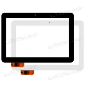 LCGE1011037 REV-A0 Digitizer Glass Touch Screen Replacement for 10.1 Inch MID Tablet PC