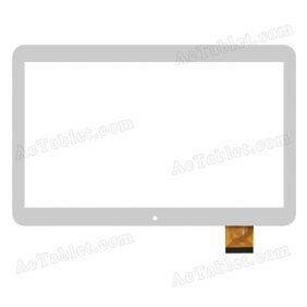 GT10QXCZ105 V2.0 Digitizer Glass Touch Screen Replacement for 10.1 Inch MID Tablet PC
