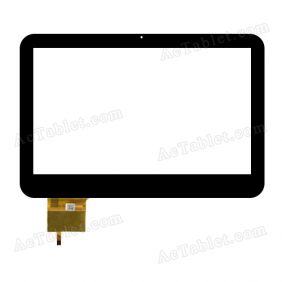 300-H4086A-A00 Digitizer Glass Touch Screen Replacement for 10.1 Inch MID Tablet PC