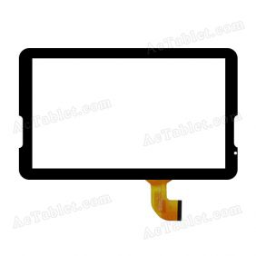 XN-1605 Digitizer Glass Touch Screen Replacement for 10.6 Inch MID Tablet PC