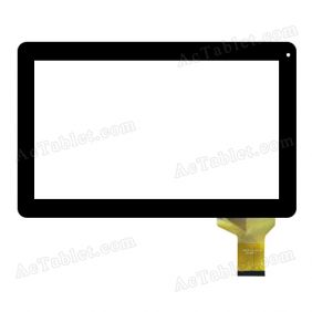 HSCTP-101301KA Digitizer Glass Touch Screen Replacement for 10.1 Inch MID Tablet PC