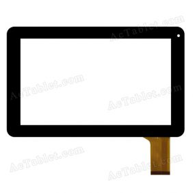 YLD-CEG9059-FPC-A1 Digitizer Glass Touch Screen Replacement for 9 Inch MID Tablet PC