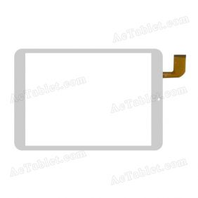 CN067FPC-V1 Digitizer Glass Touch Screen Replacement for 8 Inch MID Tablet PC