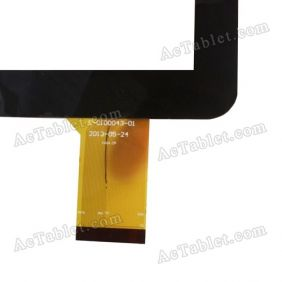 QSD E-C100043-01 Digitizer Glass Touch Screen Replacement for 10.1 Inch MID Tablet PC