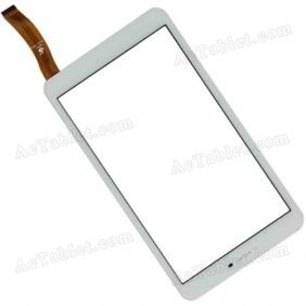 TPC1965Z VER2.0 Digitizer Glass Touch Screen Replacement for 8 Inch MID Tablet PC
