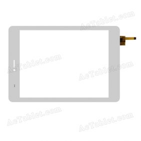 F-WGJ78017-V4 Digitizer Glass Touch Screen Replacement for 7.9 Inch MID Tablet PC