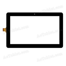 GT10PGS101 V2.0 Digitizer Glass Touch Screen Replacement for 10.1 Inch MID Tablet PC