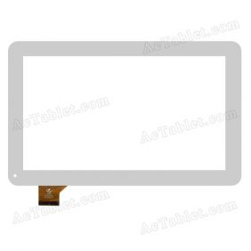 QX20150504 HK10DR2537 Digitizer Glass Touch Screen Replacement for 10.1 Inch MID Tablet PC