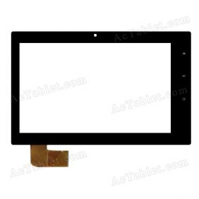 WGJ744 Digitizer Glass Touch Screen Replacement for 7 Inch MID Tablet PC