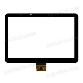 FPC101-0615B Digitizer Glass Touch Screen Replacement for 10.1 Inch MID Tablet PC