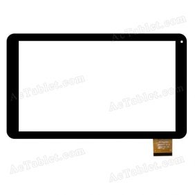HC256145A1 FPC037H V1.0 Digitizer Glass Touch Screen Replacement for 10.1 Inch MID Tablet PC