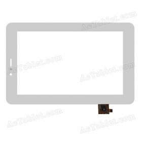 070370-01A-V2 Digitizer Glass Touch Screen Replacement for 7 Inch MID Tablet PC
