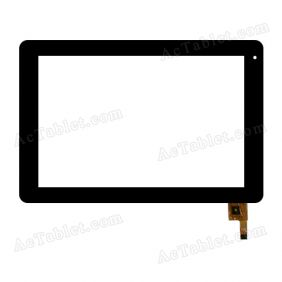 101072-01A-V1 Digitizer Glass Touch Screen Replacement for 10.1 Inch MID Tablet PC
