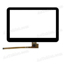 RS5F225_V1.0 Digitizer Glass Touch Screen Replacement for 5 Inch MID Tablet PC