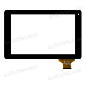 YTG-P97002-F18 Digitizer Glass Touch Screen Replacement for 9.7 Inch MID Tablet PC