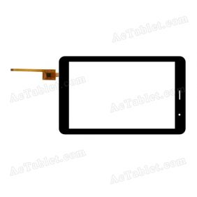 F-WGJ70427-V2 Digitizer Glass Touch Screen Replacement for 7 Inch MID Tablet PC