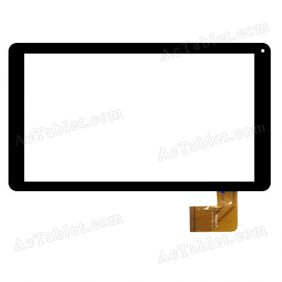WJ795-FPC V3.0 Digitizer Glass Touch Screen Replacement for 10.1 Inch MID Tablet PC