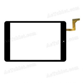 RS-CQ785D-V1.0 Digitizer Glass Touch Screen Replacement for 7.9 Inch MID Tablet PC