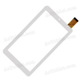 Digitizer Glass Touch Screen Replacement for MLS iQTab Atlas 7 Inch Tablet PC