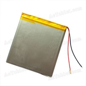 "Replacement Battery for Alldaymall 9"" Inch Allwinner A23 Dual Core A90 Tablet PC 3.7V"