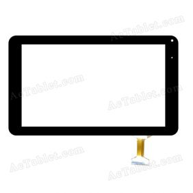 RP-361A-9.0-FPC-A2 Digitizer Glass Touch Screen Replacement for 9 Inch MID Tablet PC